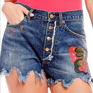 Free People Denim Short